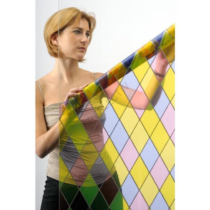 Reflectiv VTL Stained Glass Film