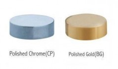 Decorative Screw Caps - Gold and Chrome