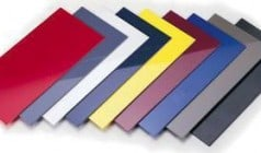 ABS Sheets with Acrylic Colored Finish