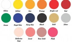 Siser Stretch 2019 Color Chart