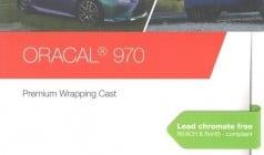 Oracal 970RA Color Chart