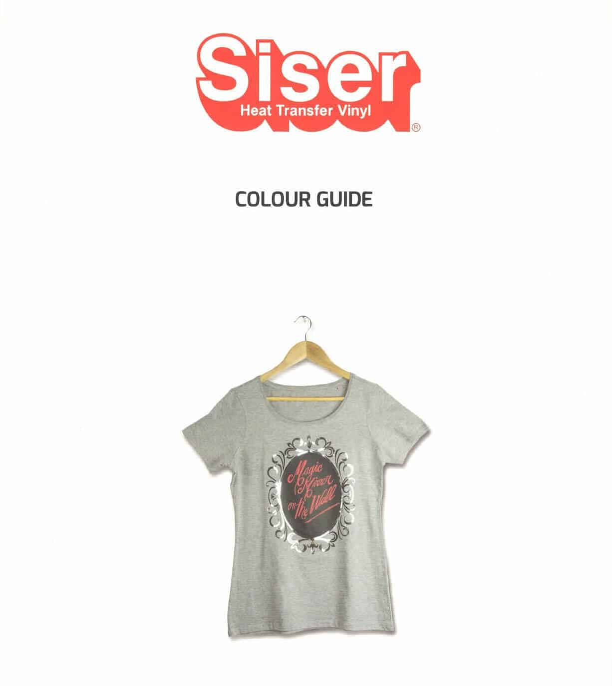 Siser Color Chart - Full Siser Color Guide