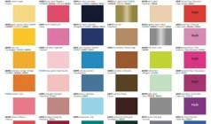 Siser Color Chart EasyWeed
