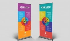 Natura SO490 Roll Up Banner - PP Film Matte