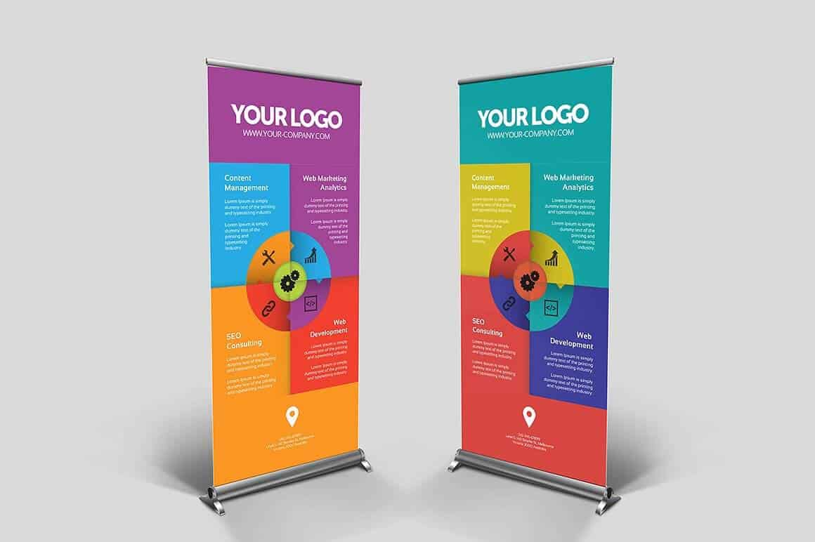 Natura So490 Matte Roll Up Banner Media Signground